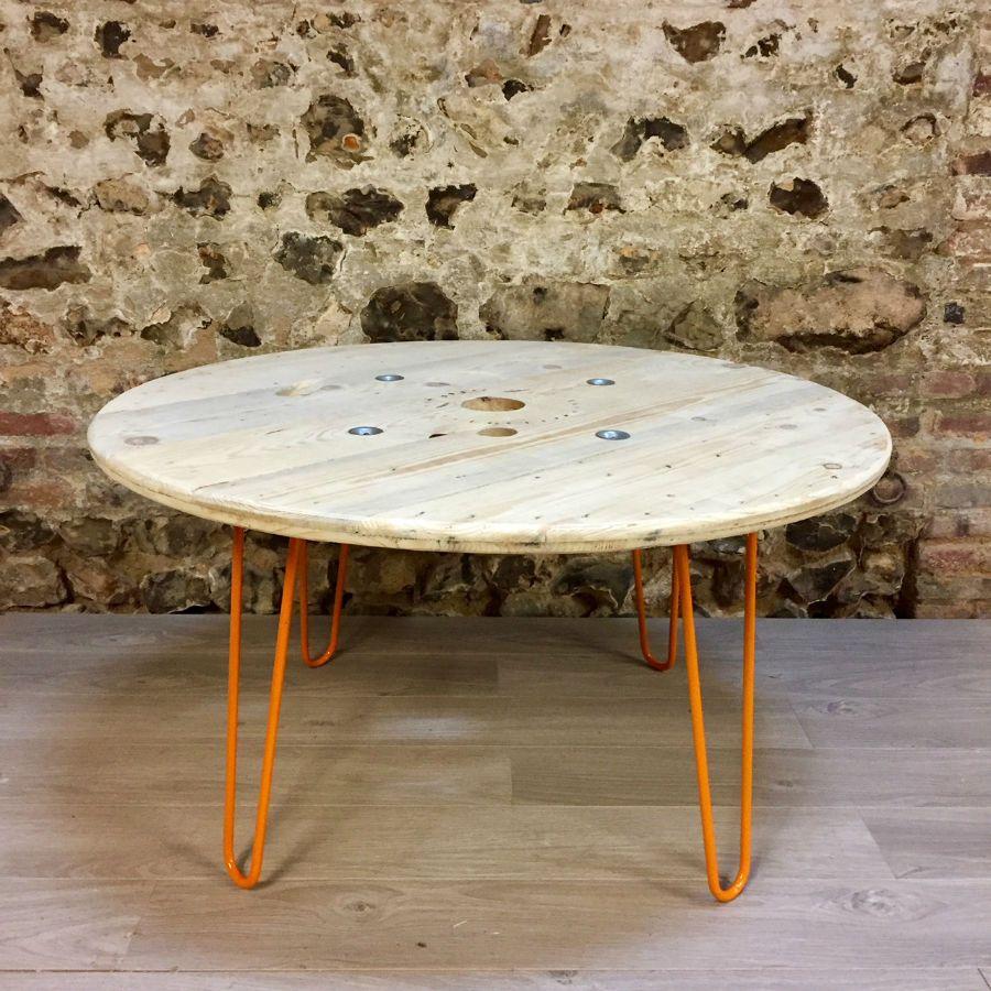 Bobine de cable electrique en bois beautiful table basse rouleau electrique elegant table caf - Table basse rouleau electrique ...