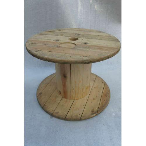 Touret en bois pour la d coration madecovintage - Comment decorer un touret ...