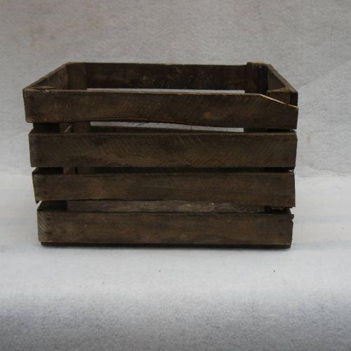 Caisse en bois vintage déclassée