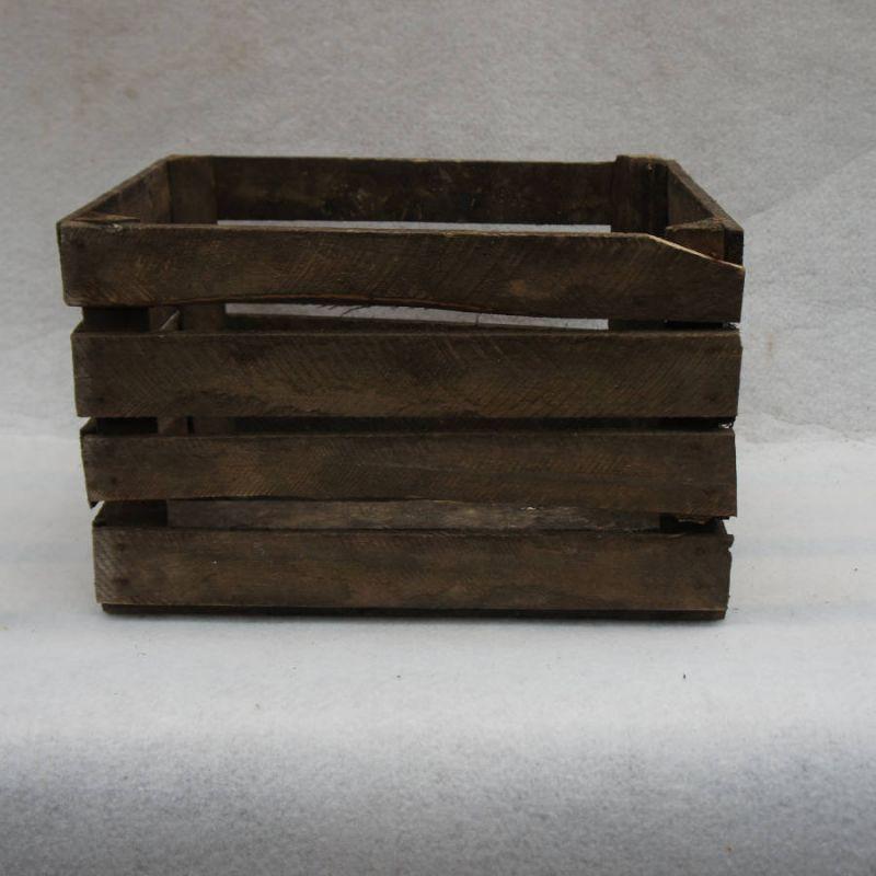 Caisse en bois déclassée