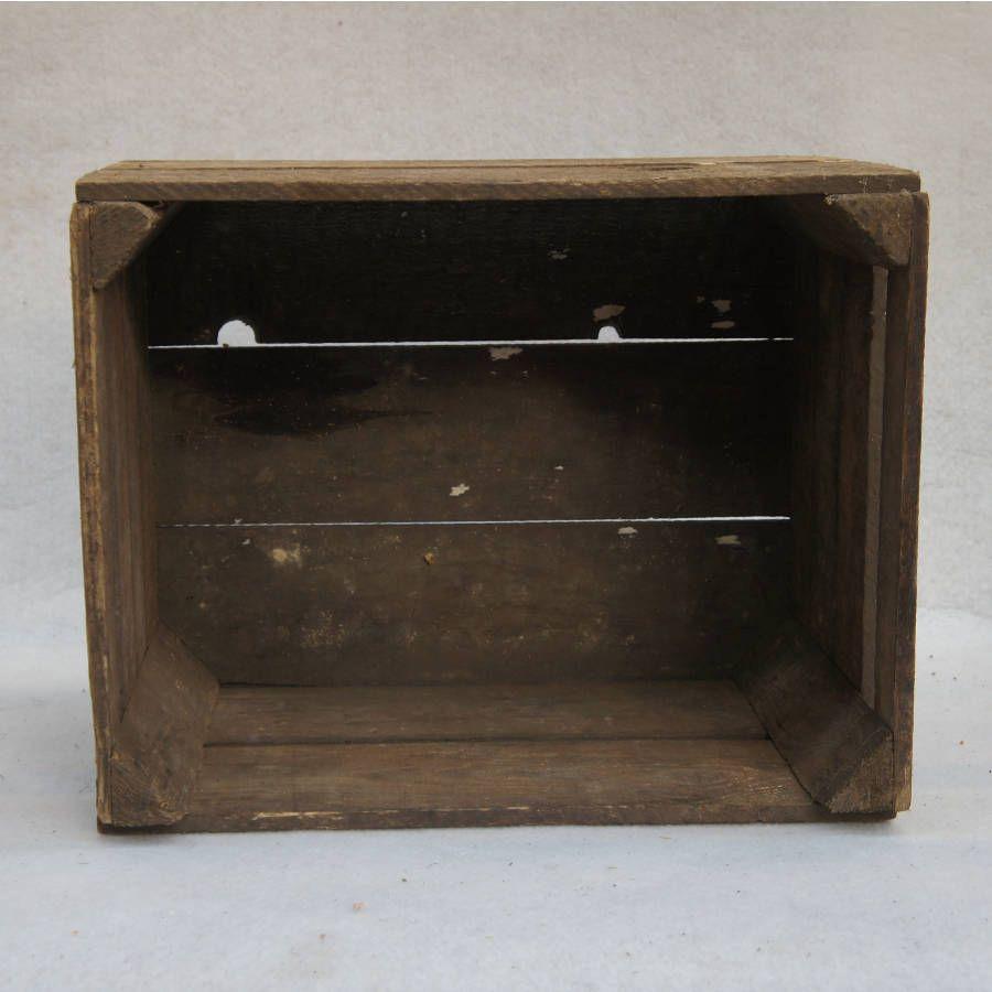 Caisses en bois Ancienne caisse en bois old vintage