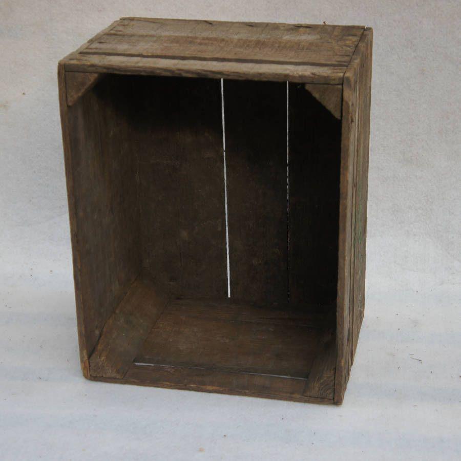 ancienne caisse en bois old vintage madecovintage. Black Bedroom Furniture Sets. Home Design Ideas
