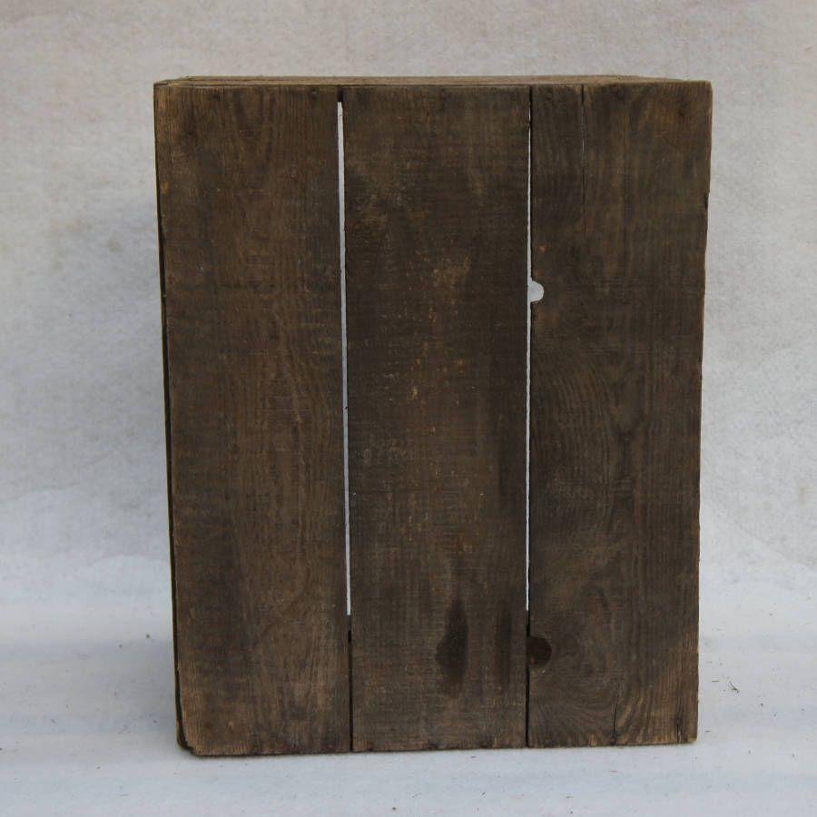Ancienne caisse en bois old vintage  Madecovintage