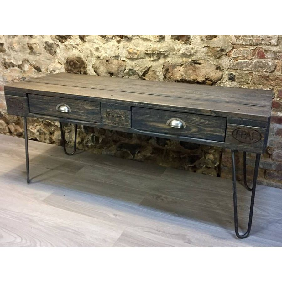 Table basse en palette europe for Salon palette europe