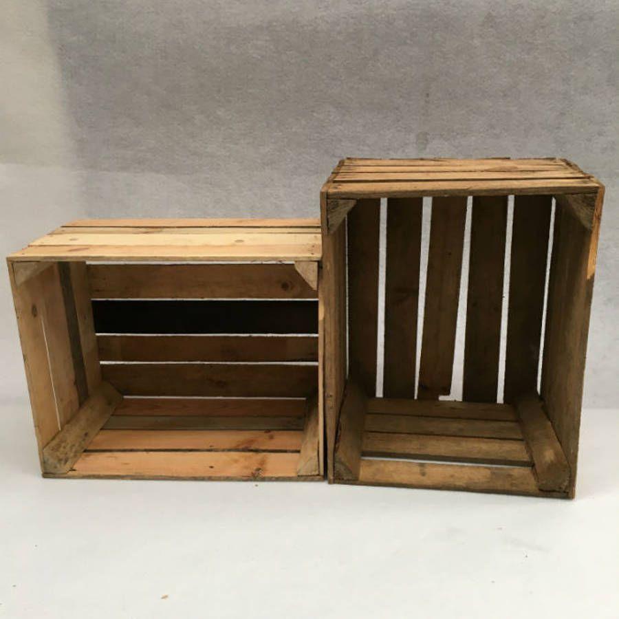 Caisse De Pomme Vide anciennes caisses en bois, caisses à pomme