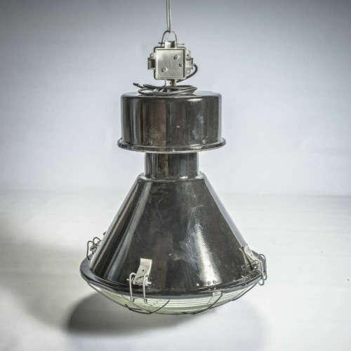 Lampe industrielle Ellipse noire