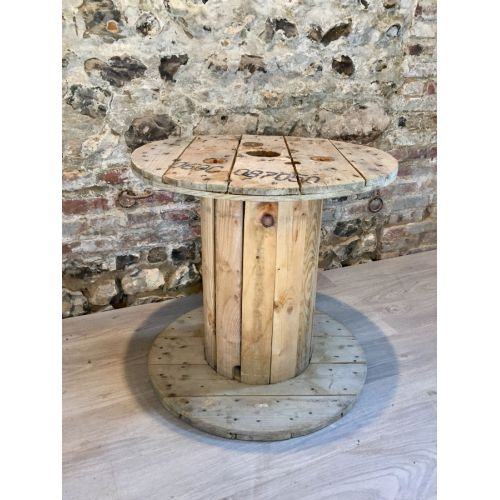 Touret en bois diamètre 60cm