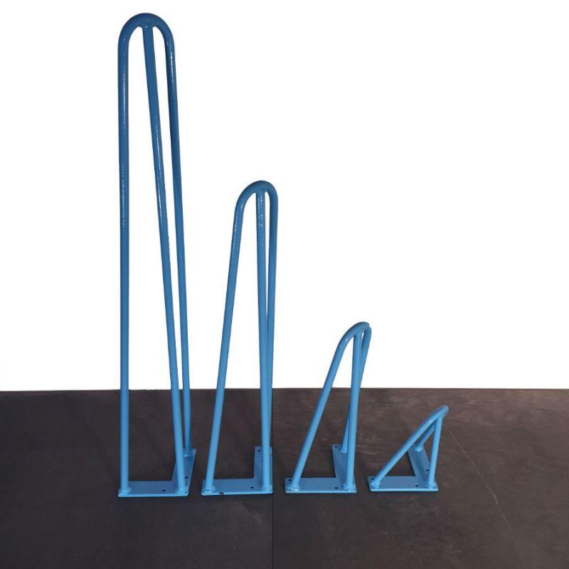 Hairpin Leg bleu