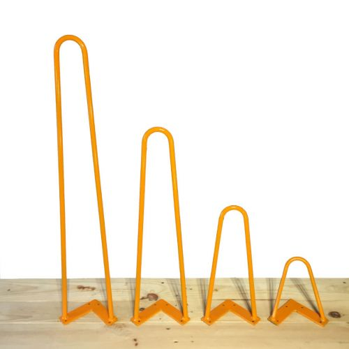 Hairpin leg orange