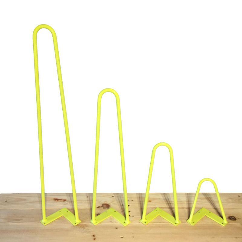 Hairpin leg jaune