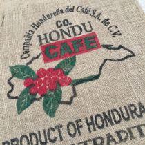 Sac de café en toile de jute Co Hondu café
