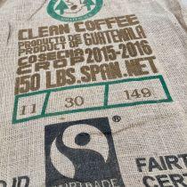 Sac de jute café Fedecocagua Fair trade