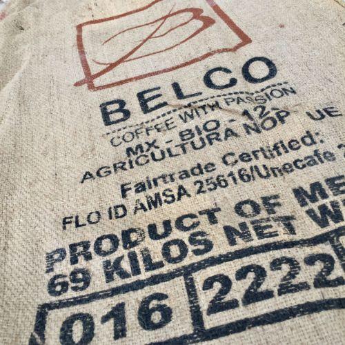 Sac de jute Café Belco Mexico