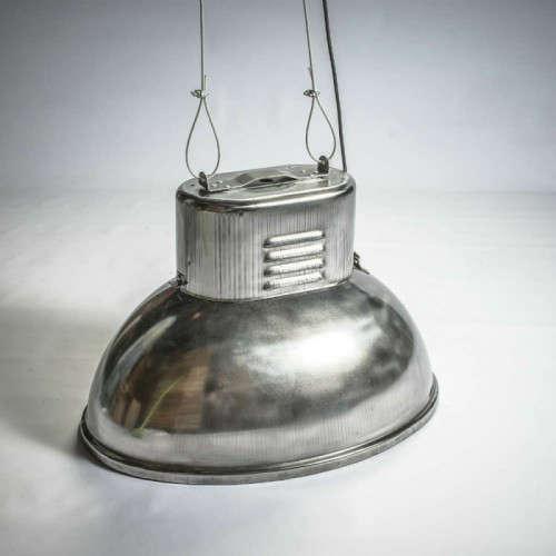 Lampe industrielle Ovale polie