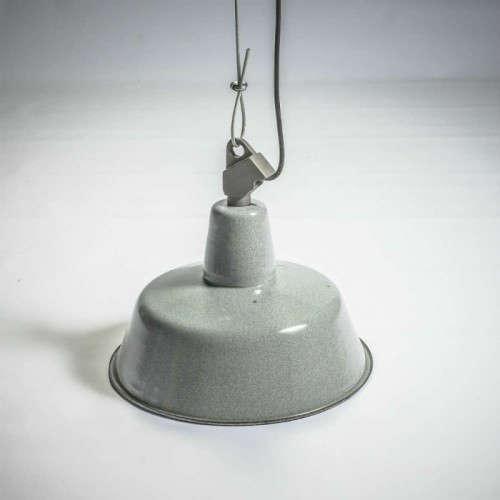 Lampe industrielle Ronde émaillée
