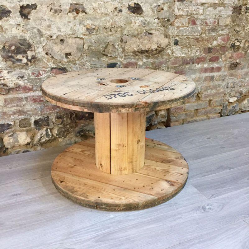 Touret De Bois touret en bois de diamètre 69cm et de petite taille