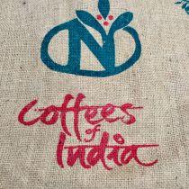 Sac de café en toile de jute Coffees of India