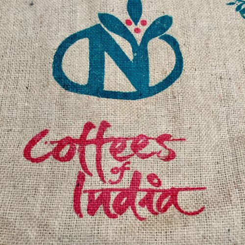 Sac de café en toile de jute Coffees of India
