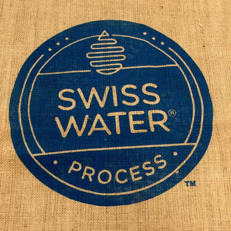 sac de café en toile de jute Swiss water édition limitée