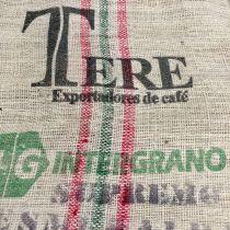 Sac de café en sisal marquage Terre
