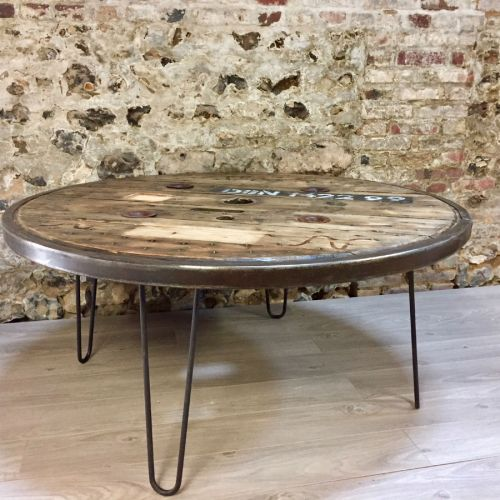 Transformer Un Touret En Table De Jardin. Elegant Joli Table Basse ...