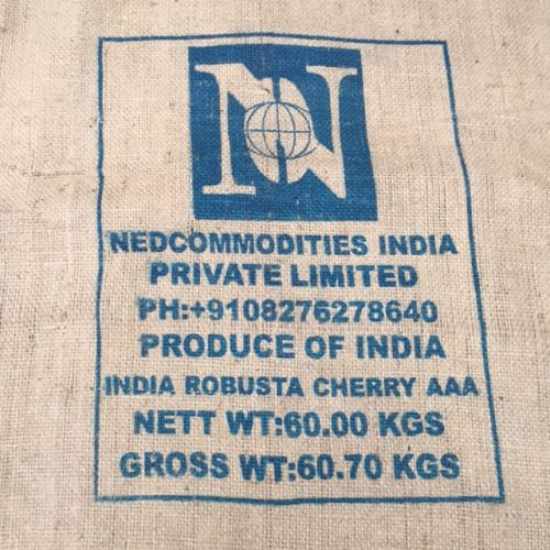 Ancien sac de café en toile de jute Nedcommodities India