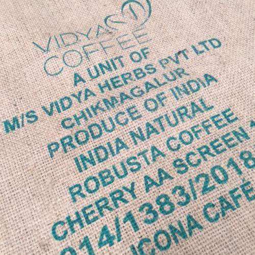 Sac de café en toile de jute Vidya India