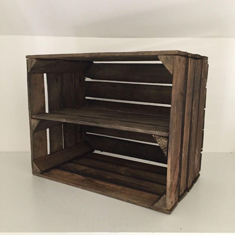 Caisse De Pomme Vide étagère horizontale faite en caisse à pomme